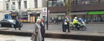 Royal Visitor to Walsall