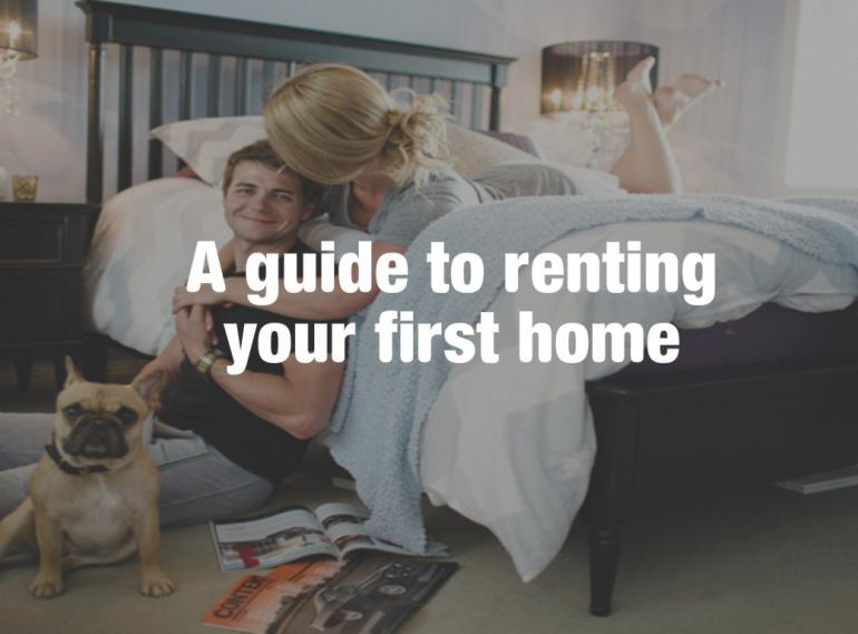 A step by step guide to renting your first Property