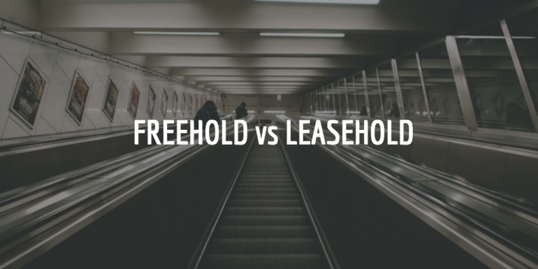 Leasehold vs freehold : what's the difference?