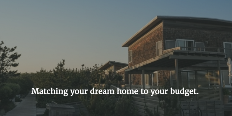 5 ways to match your dream home to your budget