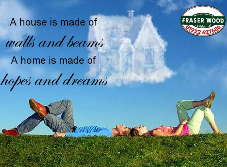 A House is made of walls and beams...