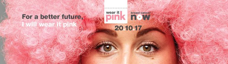 Wear it Pink Day for Breast Cancer 2017