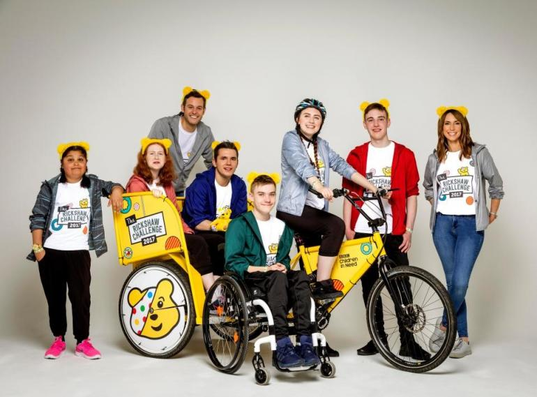 Children in Need 2017 Rickshaw Challenge