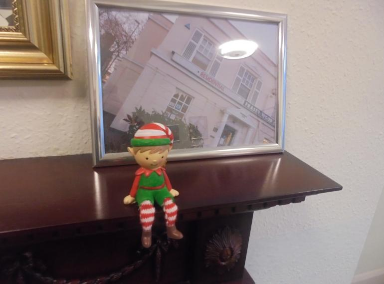 The xmas Elf has been found at Fraser Wood