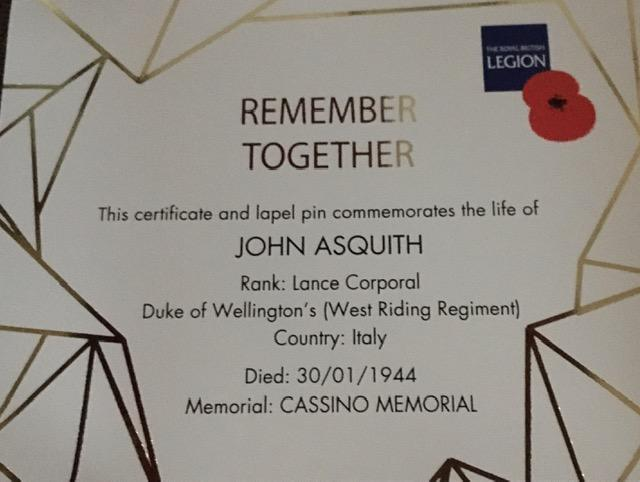 REMEMBER TOGETHER - The Royal British Legion