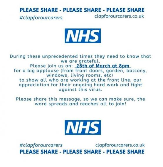 Clap for Carers - NHS